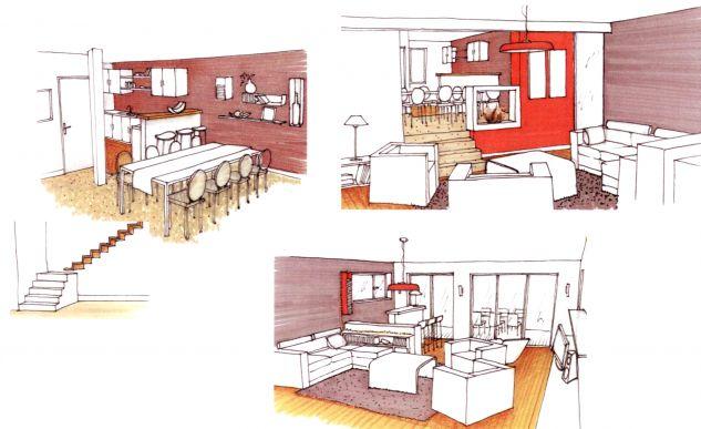 extension et architecture intérieure